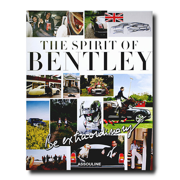 Bentley, Be Extraordinary collections covers