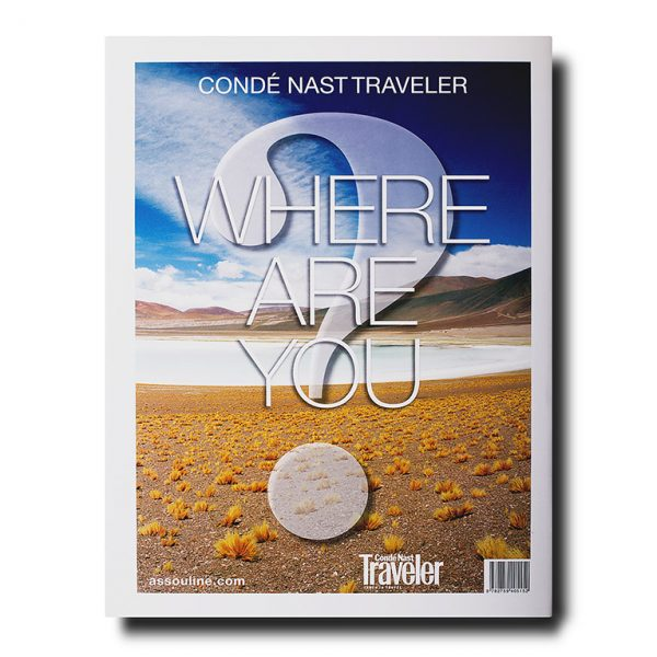 Conde Nast Traveler, Where Are You - Back Cover