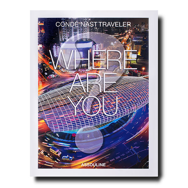 Conde Nast Traveller- Where Are You? collections covers