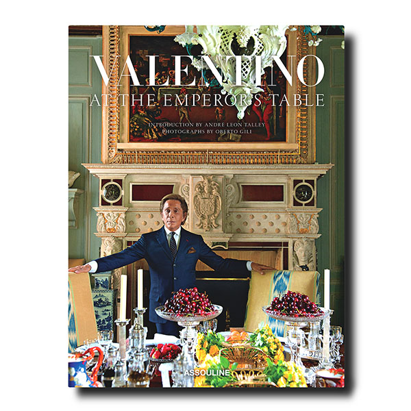 Valentino- At the Emperor's Table collections covers